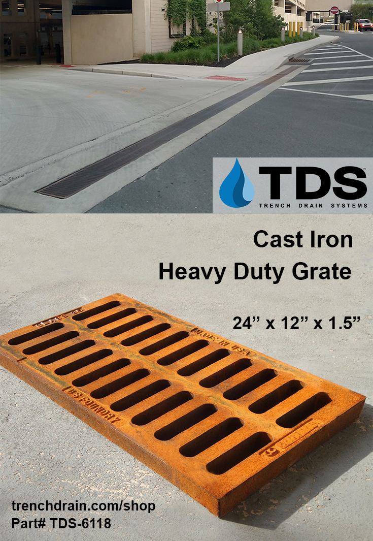 Us Foundry 6118 Heavy Duty Cast Iron 12 X24 Cast Iron Heavy Duty Iron Grate