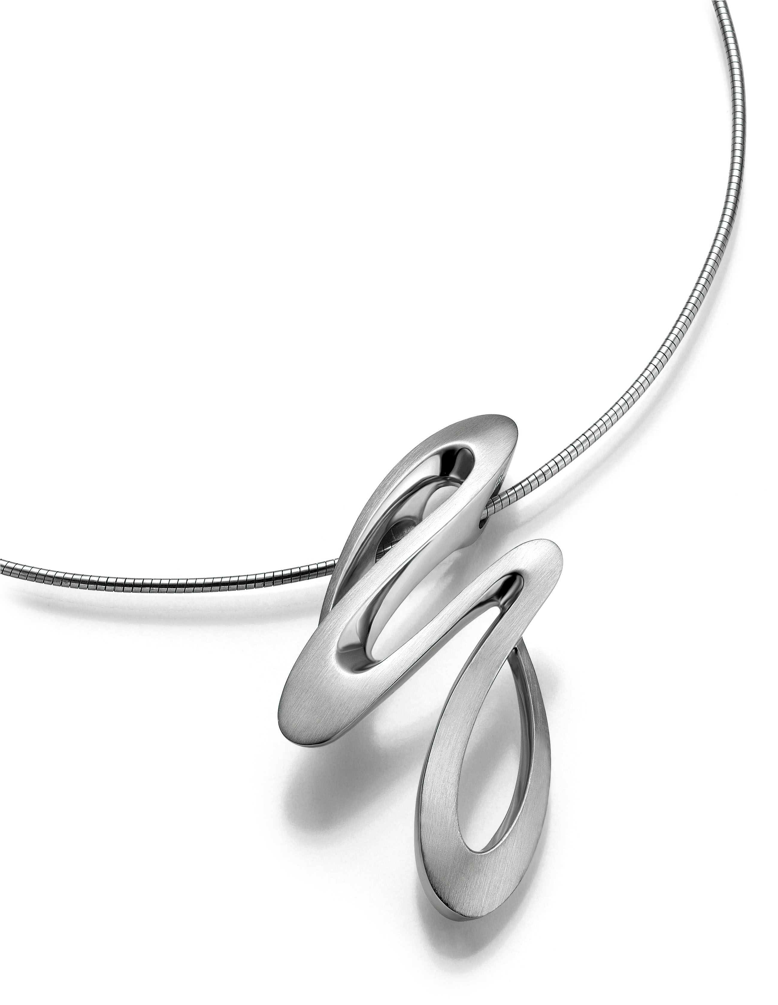 Breuning Sterling Silver Pendant Necklace