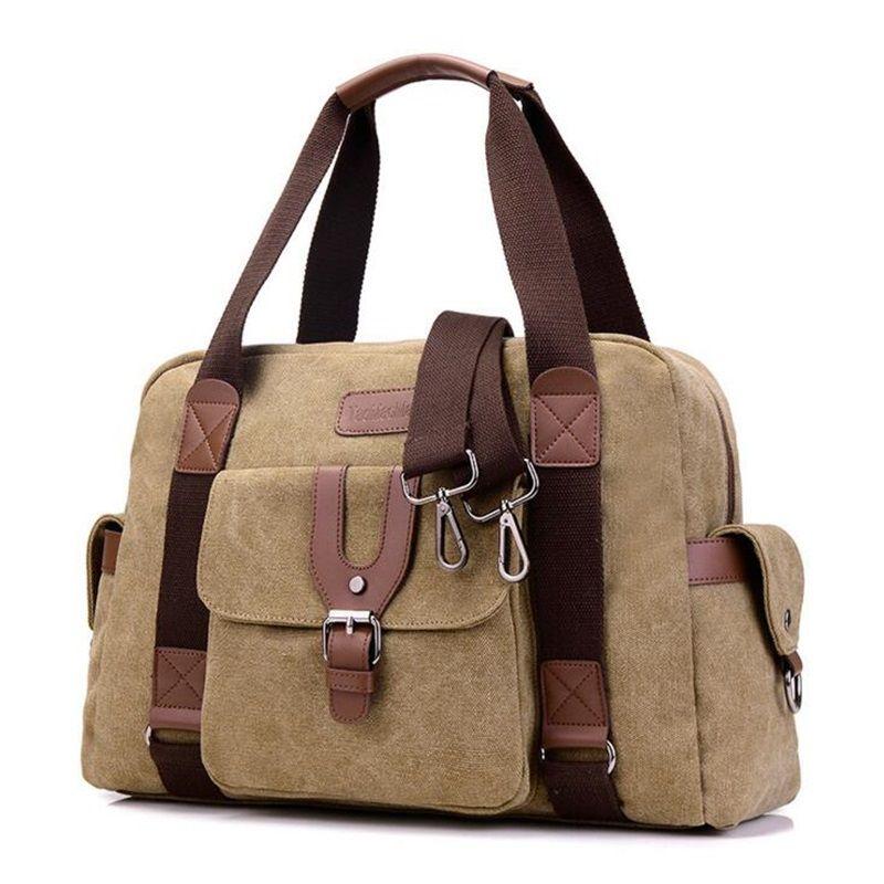832c716bc0 Women Canvas Travel Handbags Unisex Business Tote Bags Women Office ...