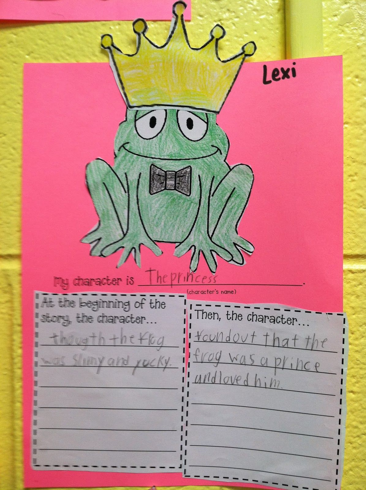 Character activity for The Frog Prince | el ed (: | Pinterest