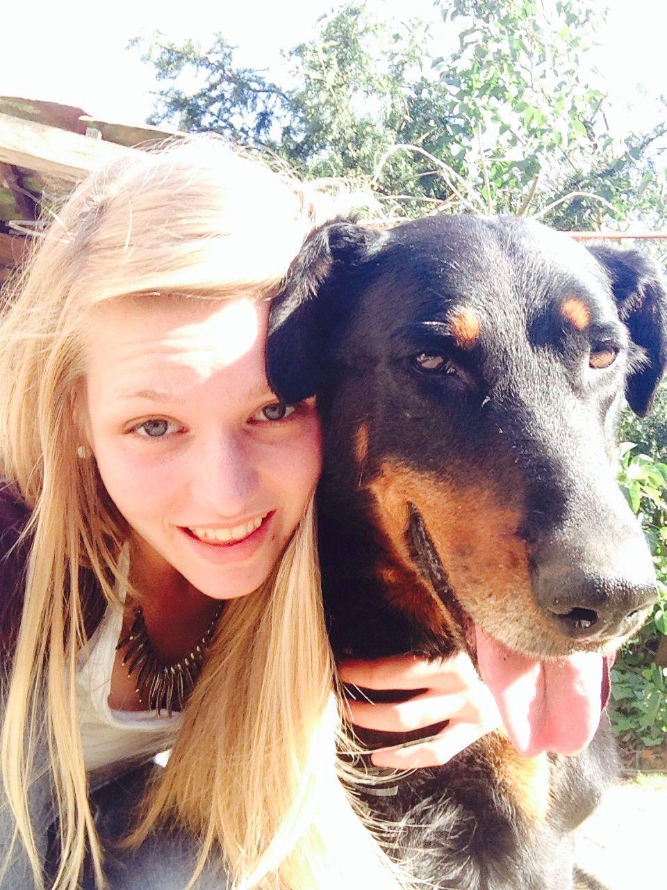 Playin with my dog #sunshine #weekend