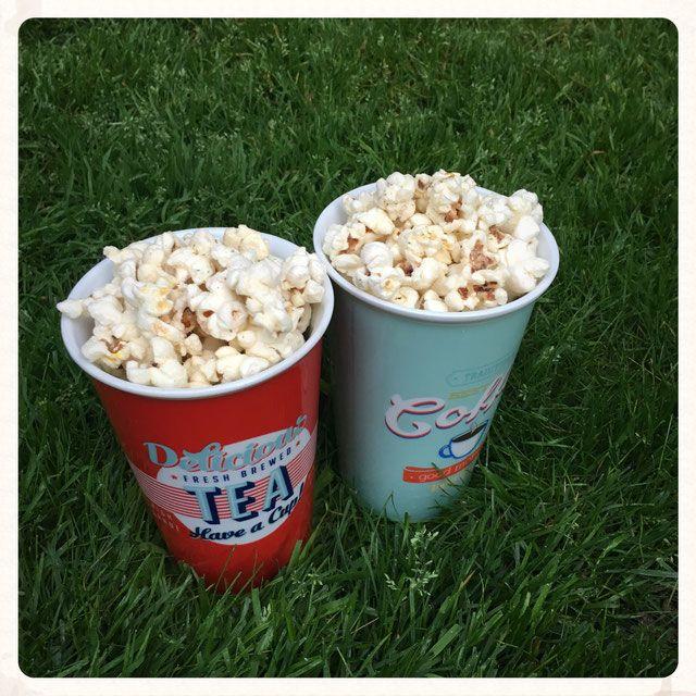 Sour Cream & Onion Popcorn. Vorsicht. Suchtgefahr! #weckgläserdekorieren
