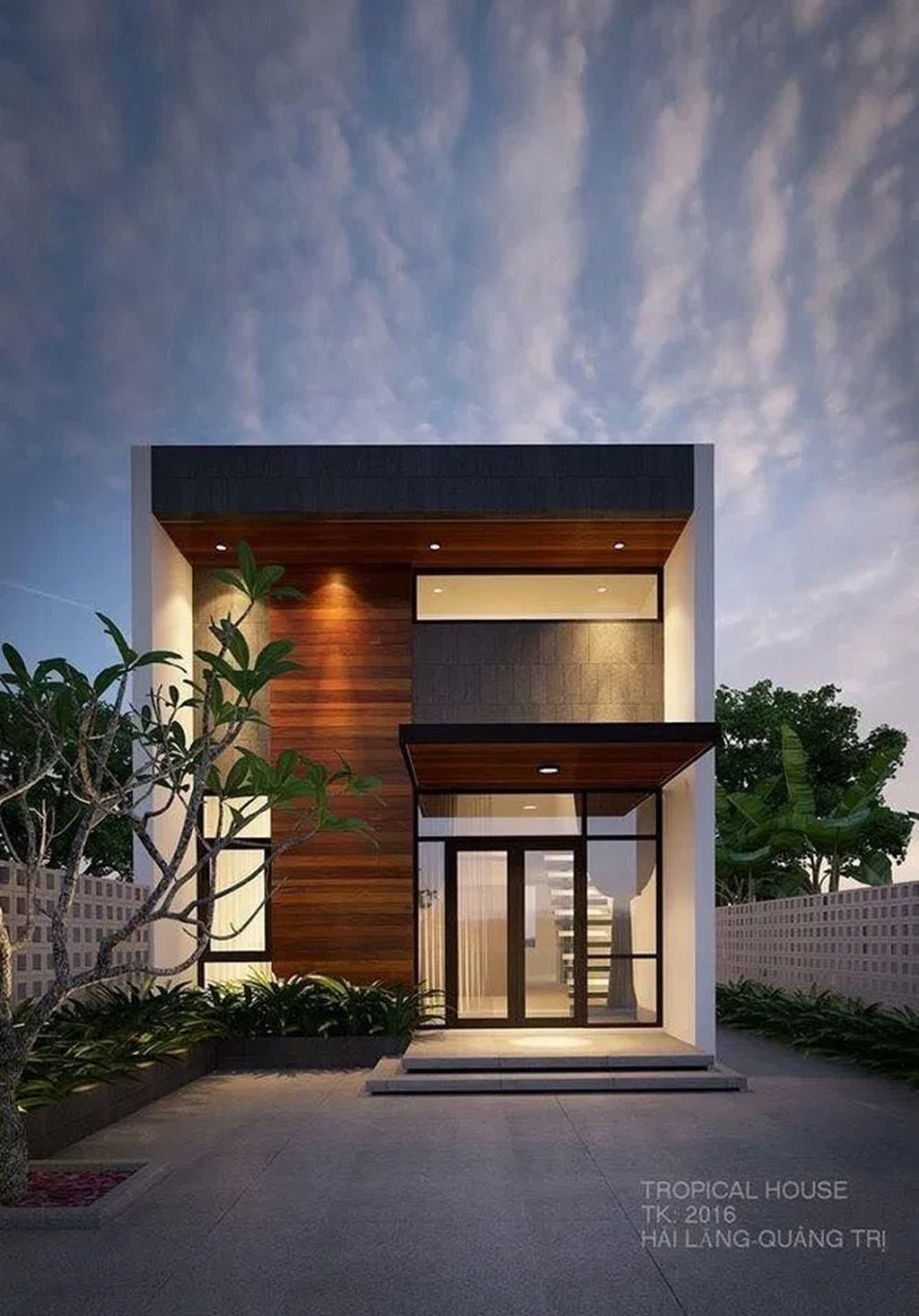 35 Awesome Small Contemporary House Designs Ideas To Try Small House Exteriors Modern Minimalist House Facade House