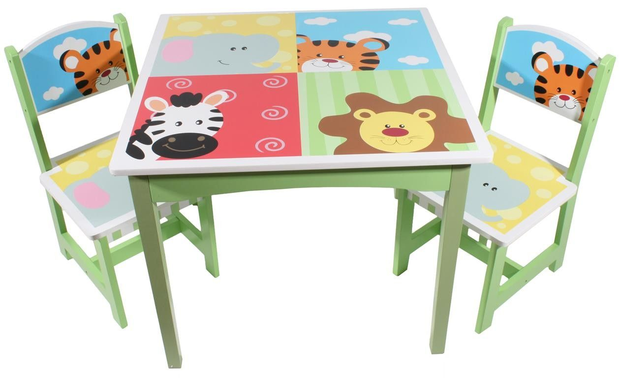 - Animal Design Childrens Table And Chairs Toddler Chair, Kids