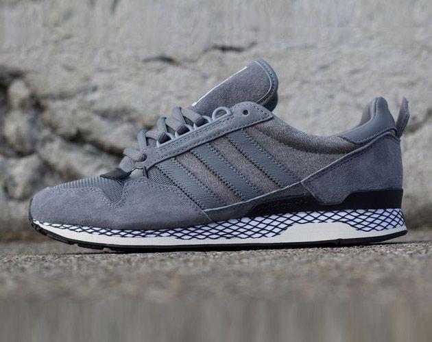 Kazuki Kuraishi X Adidas Zxz Adv 84 Lab Tech Grey Dark Navy Sneakers Adidas Retro Sneakers Adidas