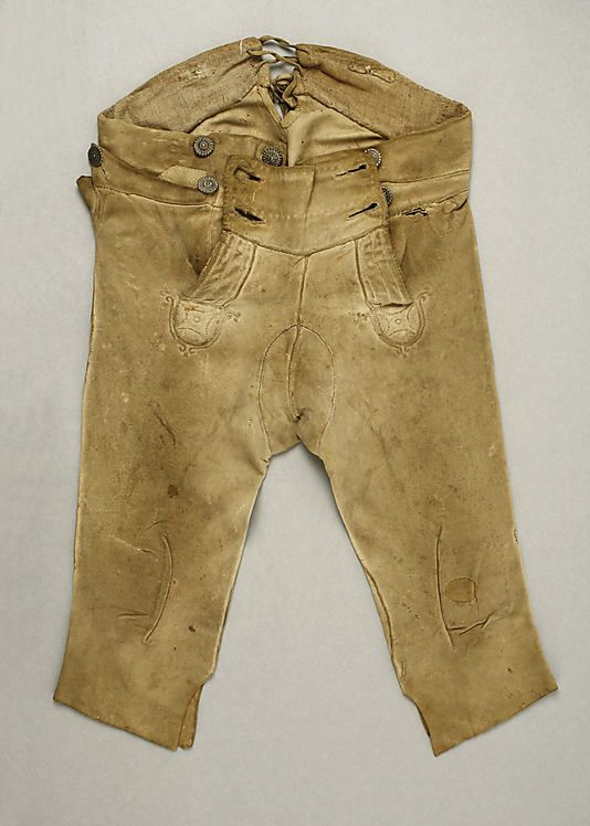 Breeches Date: early 19th century Culture: probably ...