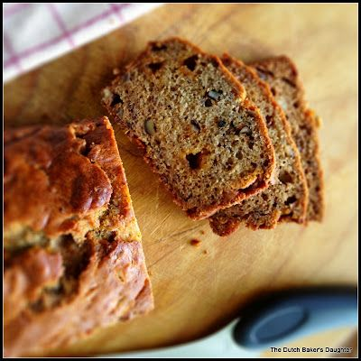 Butterscotch Banana Bread- yum! We're gonna give this a try w/ Plain Chobani instead of sour cream.
