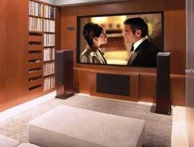 Movie room is a must!