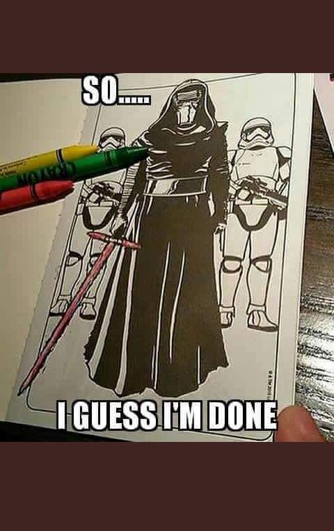 World S Worst Colouring Book Star Wars Humor Star Wars Memes Star Wars