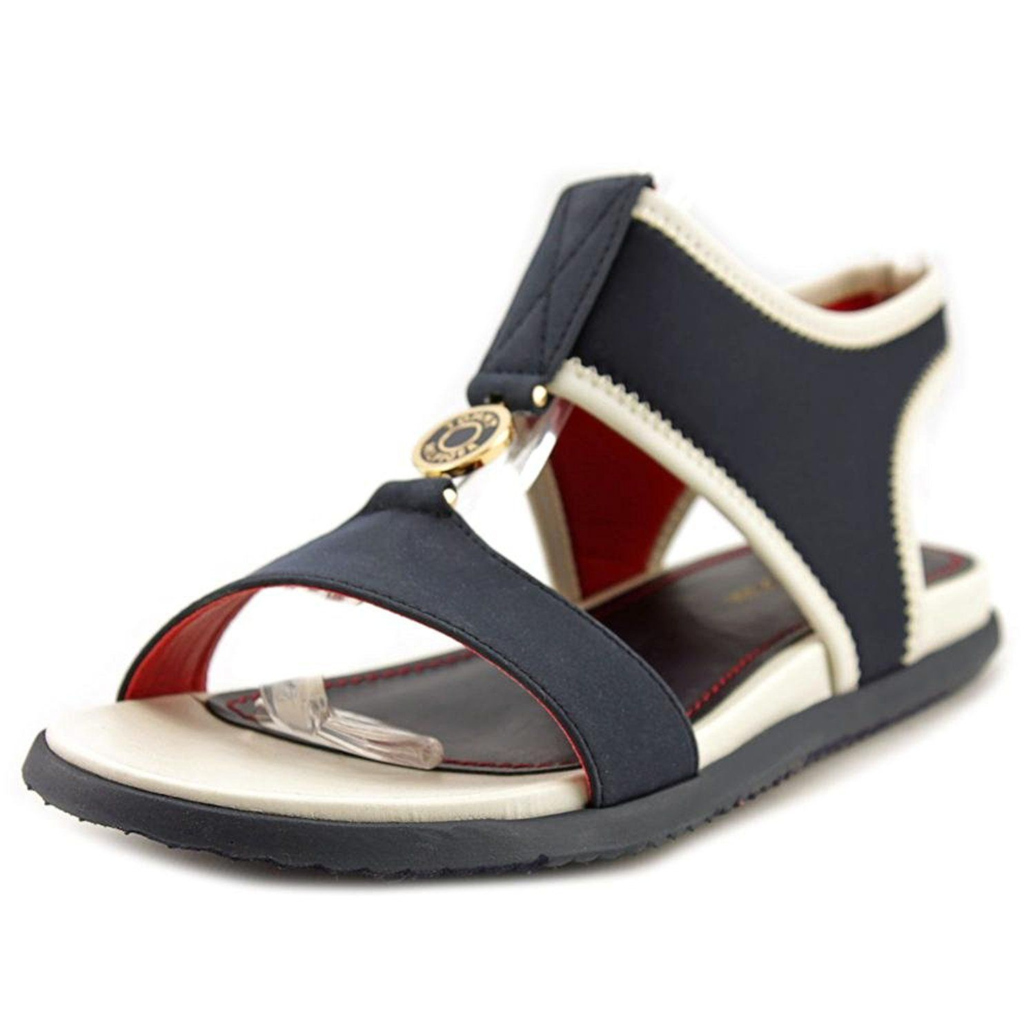 Tommy Hilfiger Christa Women US 8.5 Blue Open Toe Slingback Sandal -- Details can be found by clicking on the image.