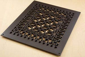 Vent Covers Unlimited 10 X 14 Oil Rubbed Bronze Scroll Design Aluminum Vent Cover 140 00 Http Www Ve Oil Rubbed Bronze Vent Covers Decorative Vent Cover