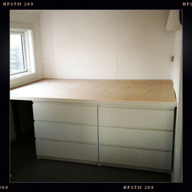 Seng med opbevaringsplads httpwwwchickenandstilettosdkdiy seng med opbevaringsplads DIY