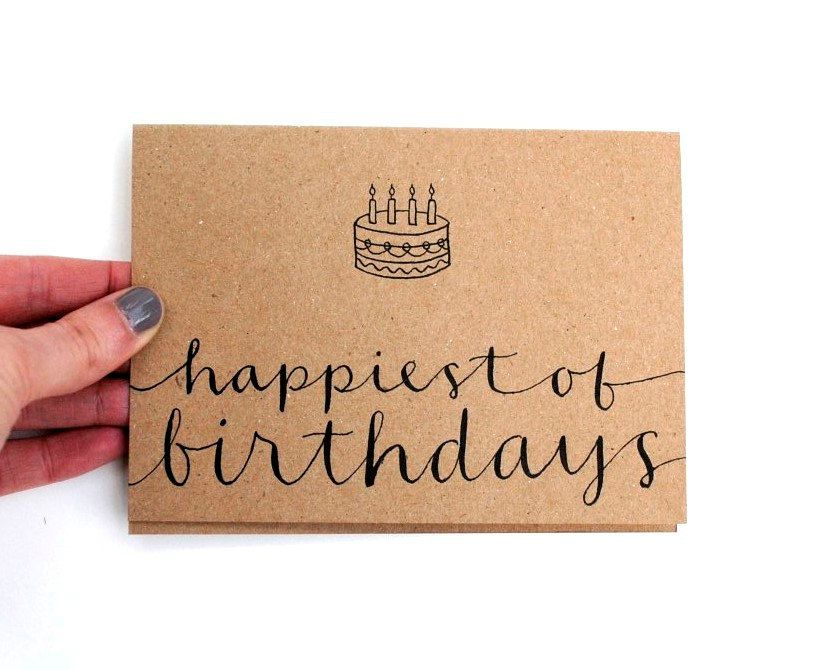 (calligraphy sample) | happiest of birthdays #lettercakegeburtstag