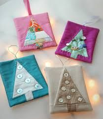 Bilderesultat for patchwork xmas ornaments
