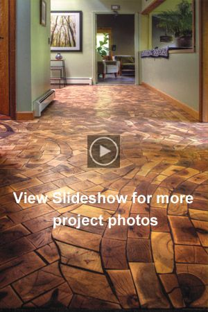 Kids Install End Grain Floor With One Of Industryu0027s Best | Flooring |  Pinterest | Dziecko, Watches I Ziarna