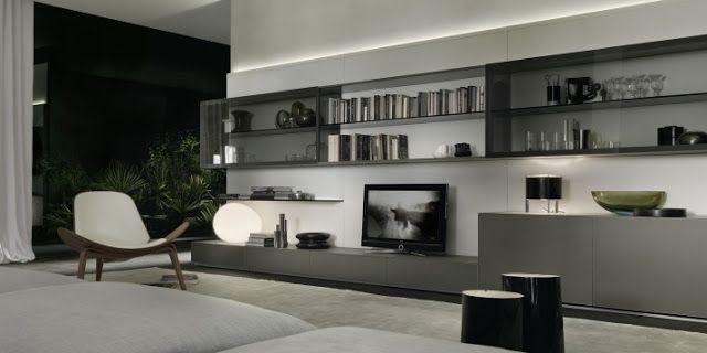 muebles modulares para salas modernas