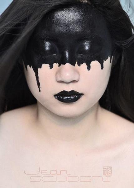 top 16 des peintures sur visage de jean scuderi le maquillage artistique et militant makeup. Black Bedroom Furniture Sets. Home Design Ideas