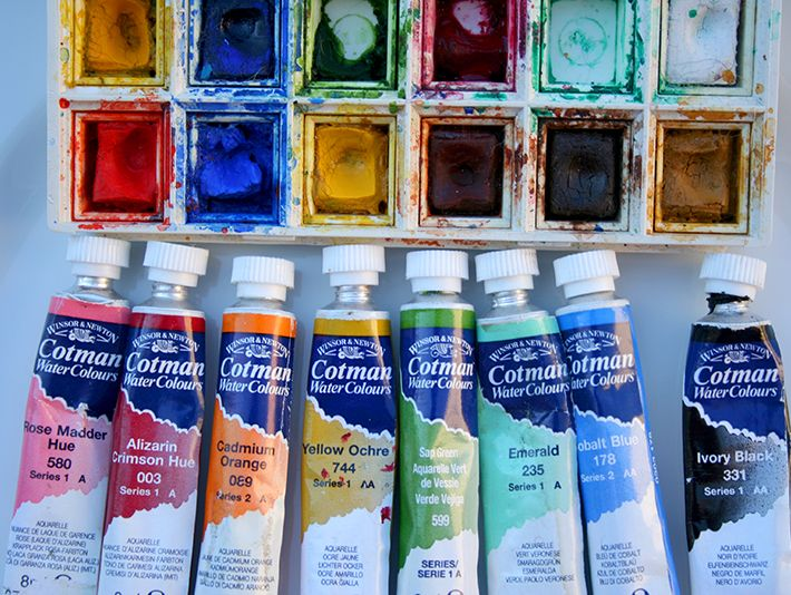 What S Better Watercolors In A Tube Or In A Pan Watercolor