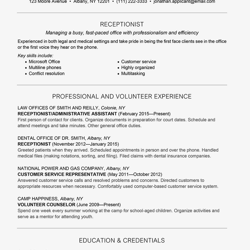 Receptionist Job Description Resume Receptionist Job Description Salary Skills More Receptionist Jobs Job Description Template Resume Skills