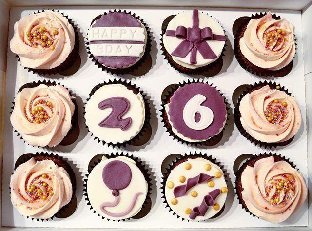26th Birthday Cupcakes By Aliya S Cakes Cupcakes Birthday Cake
