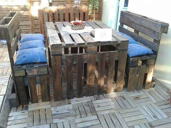 Muebles de tarimas
