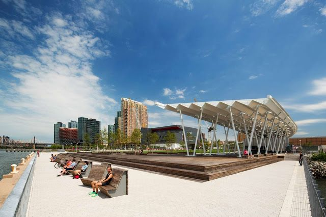 06 Hunters Point South Waterfront Park By Thomas Balsley Associates And Weiss Manfredi