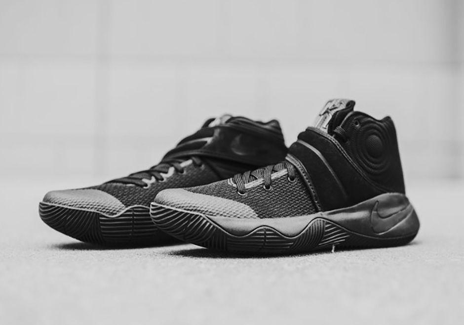 2236b6ce6f8f Nike Kyrie 2 Triple Black Release Date