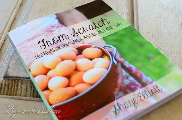 Book review of from scratch easy recipes for traditionally book review of from scratch easy recipes for traditionally prepared whole foods forumfinder Gallery