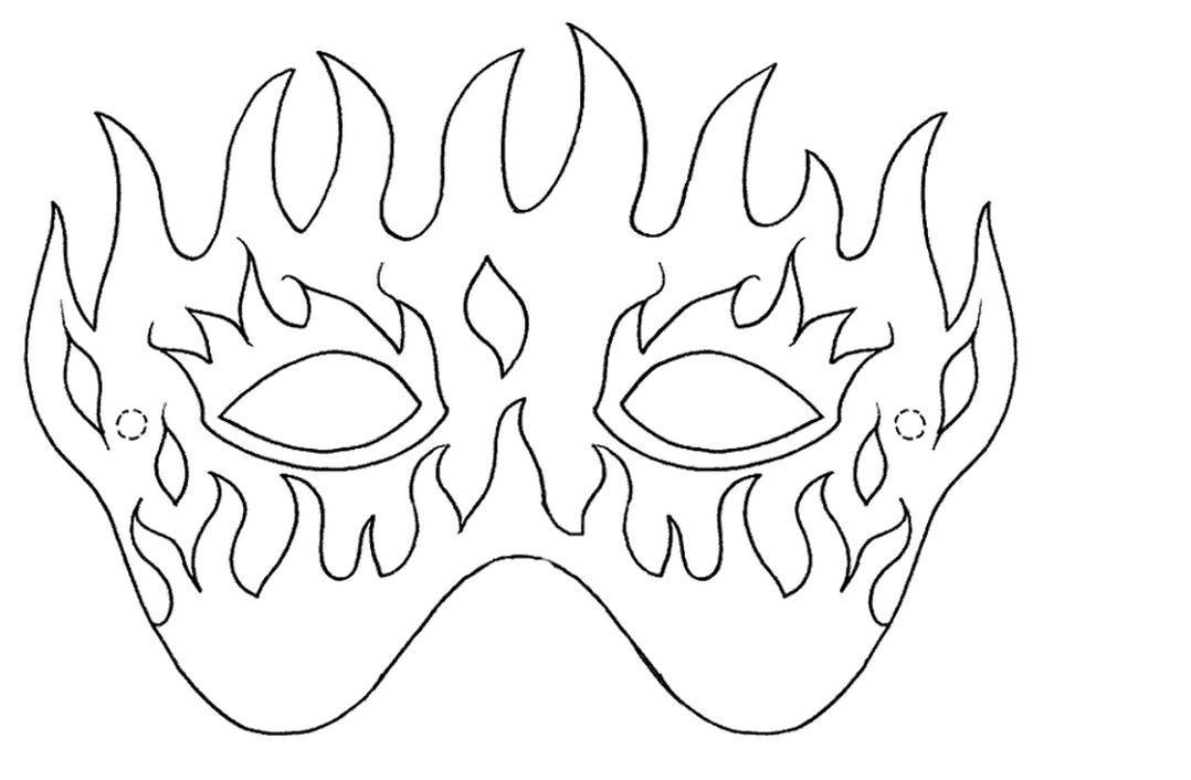 Maschere Di Carnevale Da Colorare Con Stampa E Colora Le Maschere