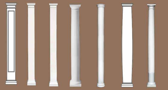 Modern Columns 1000+ images about modern porch on pinterest | columns, exterior