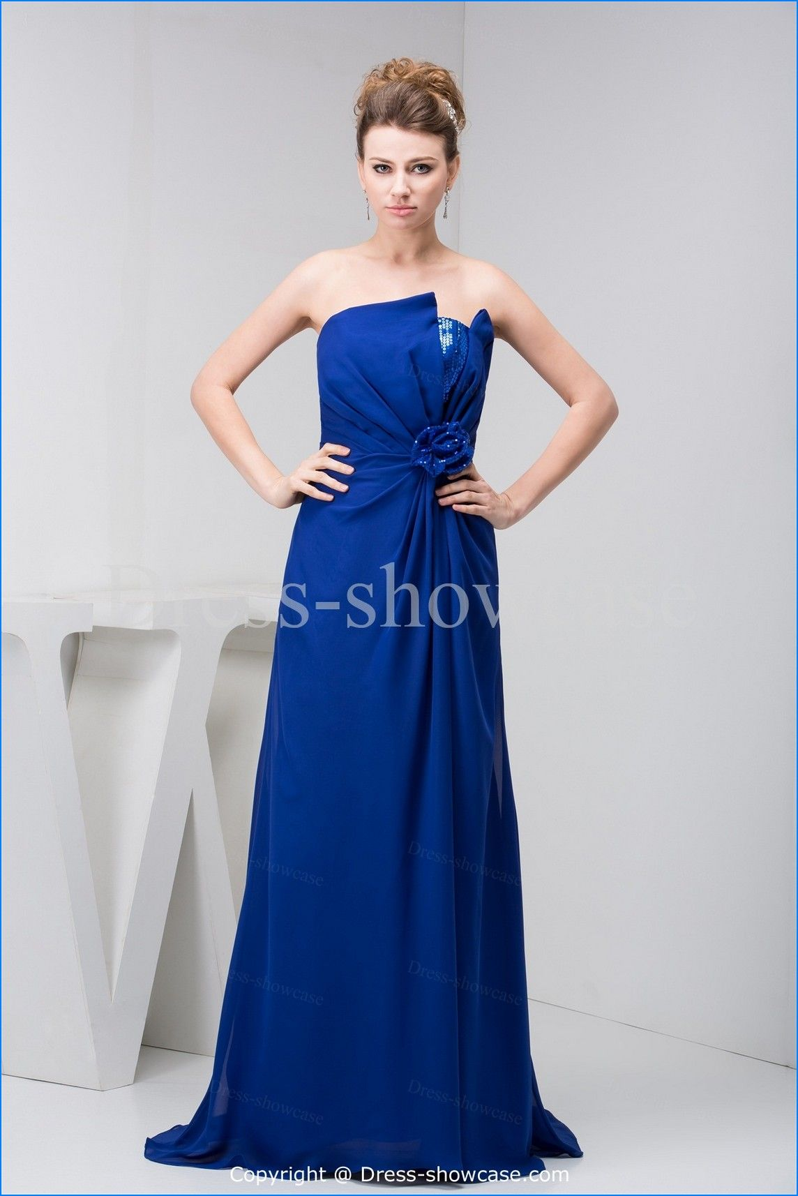 Royal blue dress for wedding guest  Royal Blue And Silver Wedding Dresses  My wedding colors