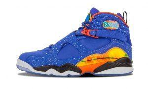 f85d88cb8480ef Mens Nike Air Jordan 8 Retro DB Doernbecher 729893 480 Boy Basketball Shoes