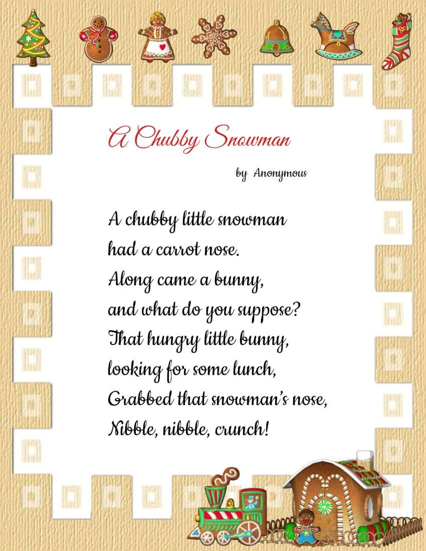 Beautiful Christmas Poems | www.topsimages.com