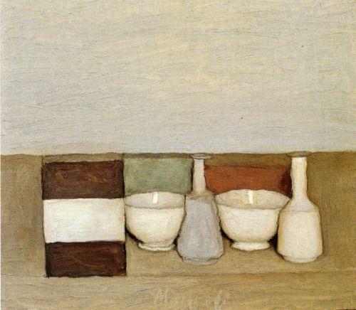 Still Life Giorgio Morandi, 1954
