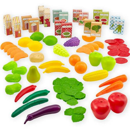 Toys R Us 1001325 Just Like Home Fruit And Veggie Play