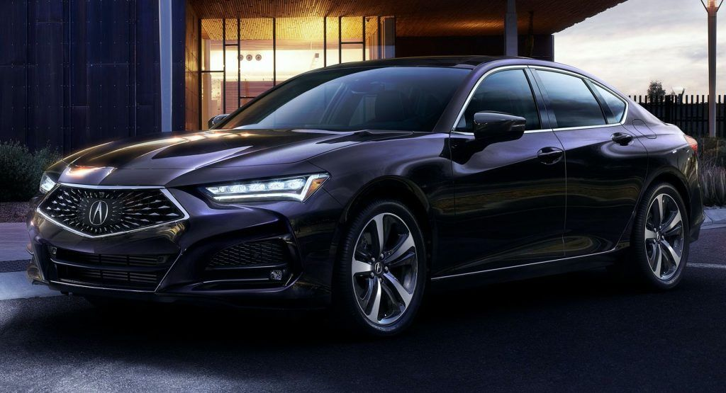 2021 Acura Tlx With 4 Pot Turbo Starts At 38 525 1 300 Higher Than V6 Equipped 2020 Model Carscoops In 2020 Acura Tlx Acura Luxury Sedan