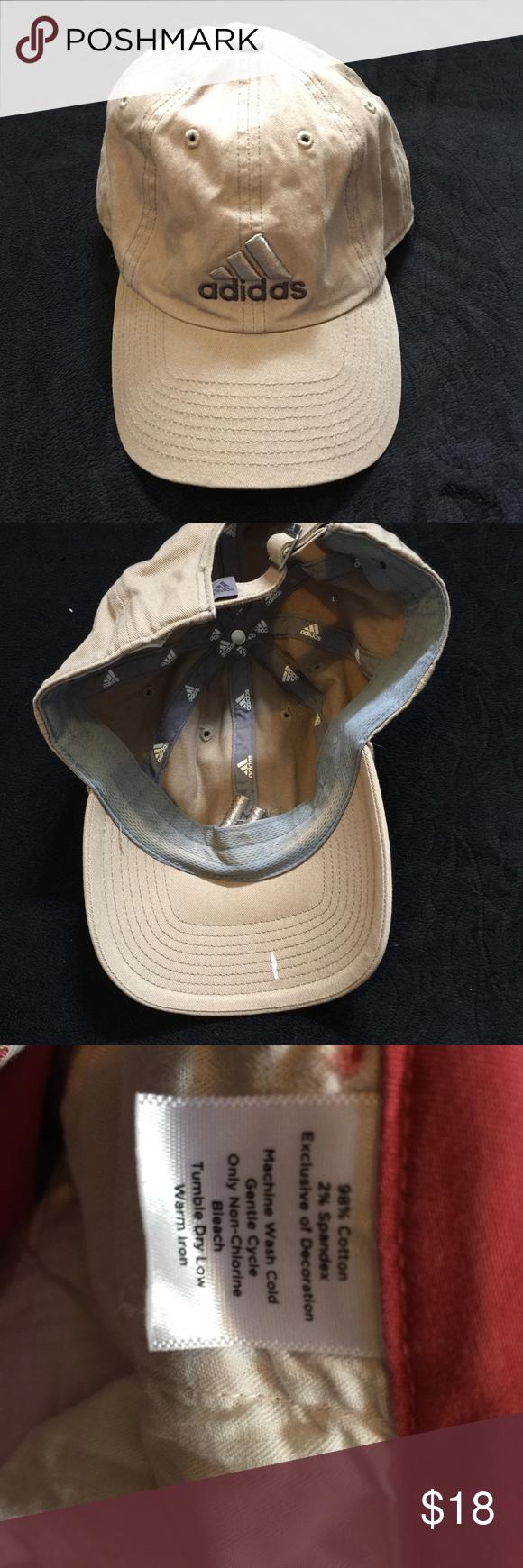 27179def4b9 Adidas hat cream adjustable one size os