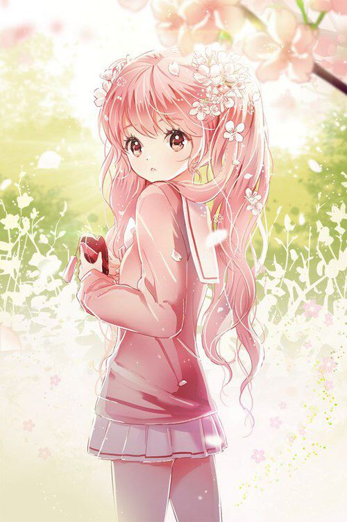 Pin On Anime Girl With Pink Hair