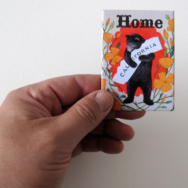 Home Sweet Home Magnet from 3 Fish Studios