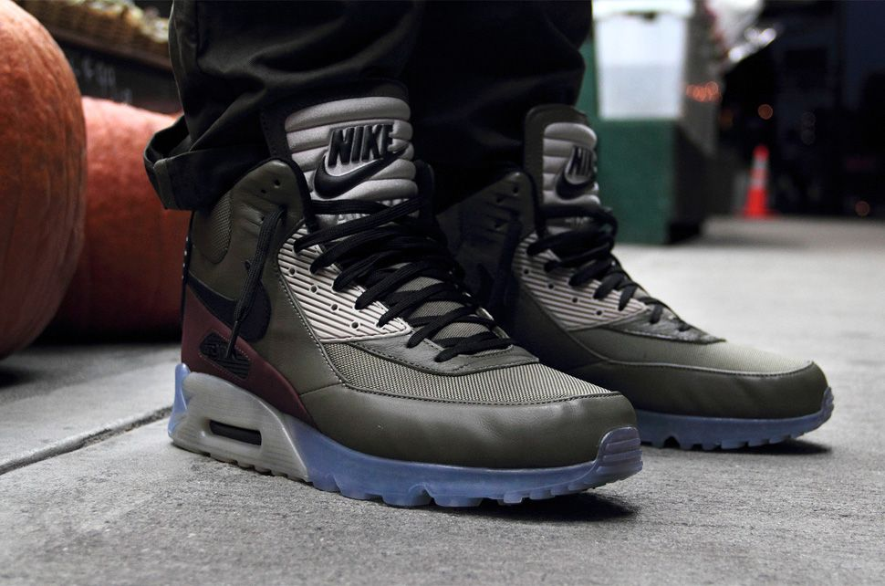 nike air max 90 sneakerboot ice schuhe