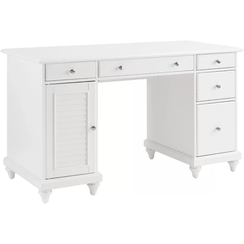 Midland Computer Desk In 2020 White Desks Desk L Shaped Executive Desk