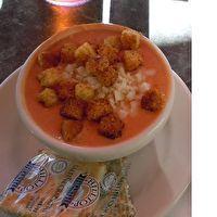Beach Bar Tomato Soup By Clarklake