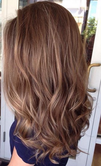 Hair color Light Brown - #Brown #Color #Hair #Hell - Hair #Brown #Color,  #balayagehairlight ... #fallhaircolors