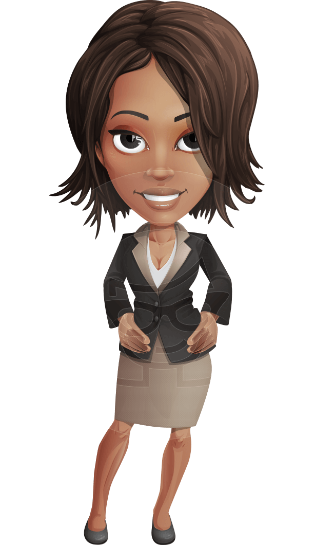 Kim the Office lady | Background | Cartoon characters ...