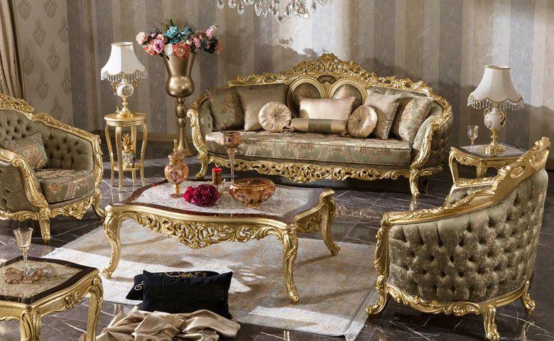Olimpos Luks Koltuk Takimi Ruang Tamu Mewah Set Sofa Sofa Ruang Tamu