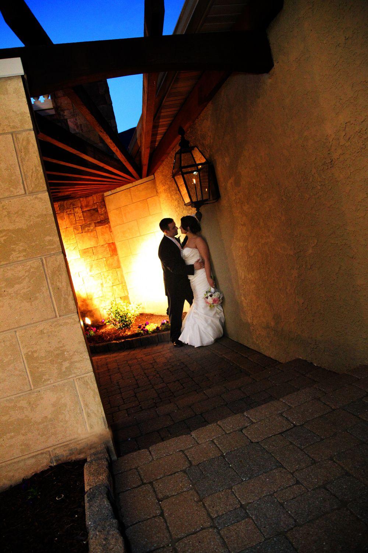 statement dusk wedding photos | event center at blue in bethlehem ...