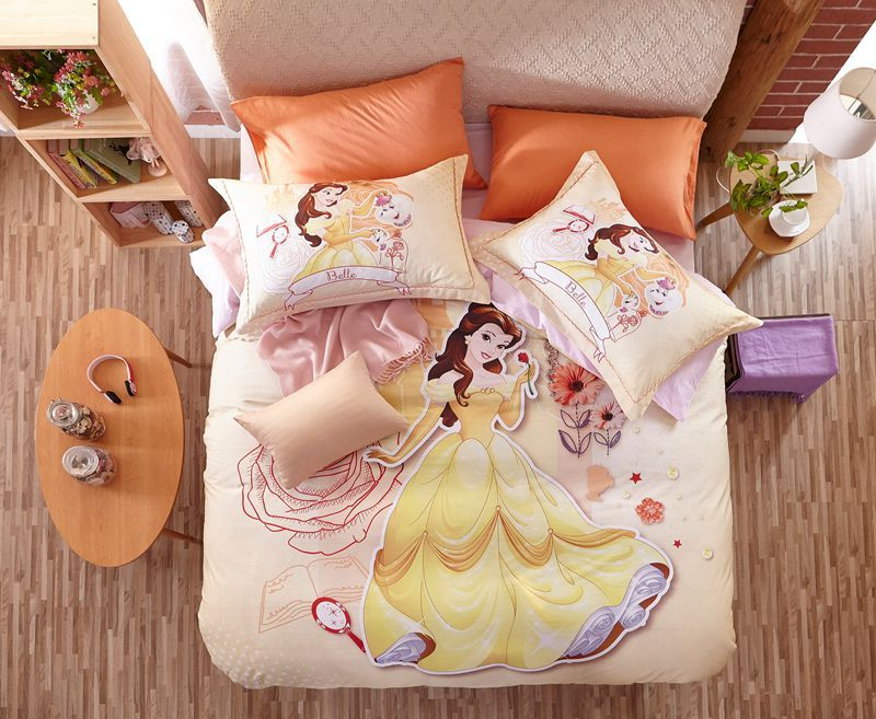 Disney Princess Belle Bedding Set For Kids Girls Teens Ebeddingsets Bedding Set Disney Bedding Sets Beauty And The Beast Bedroom