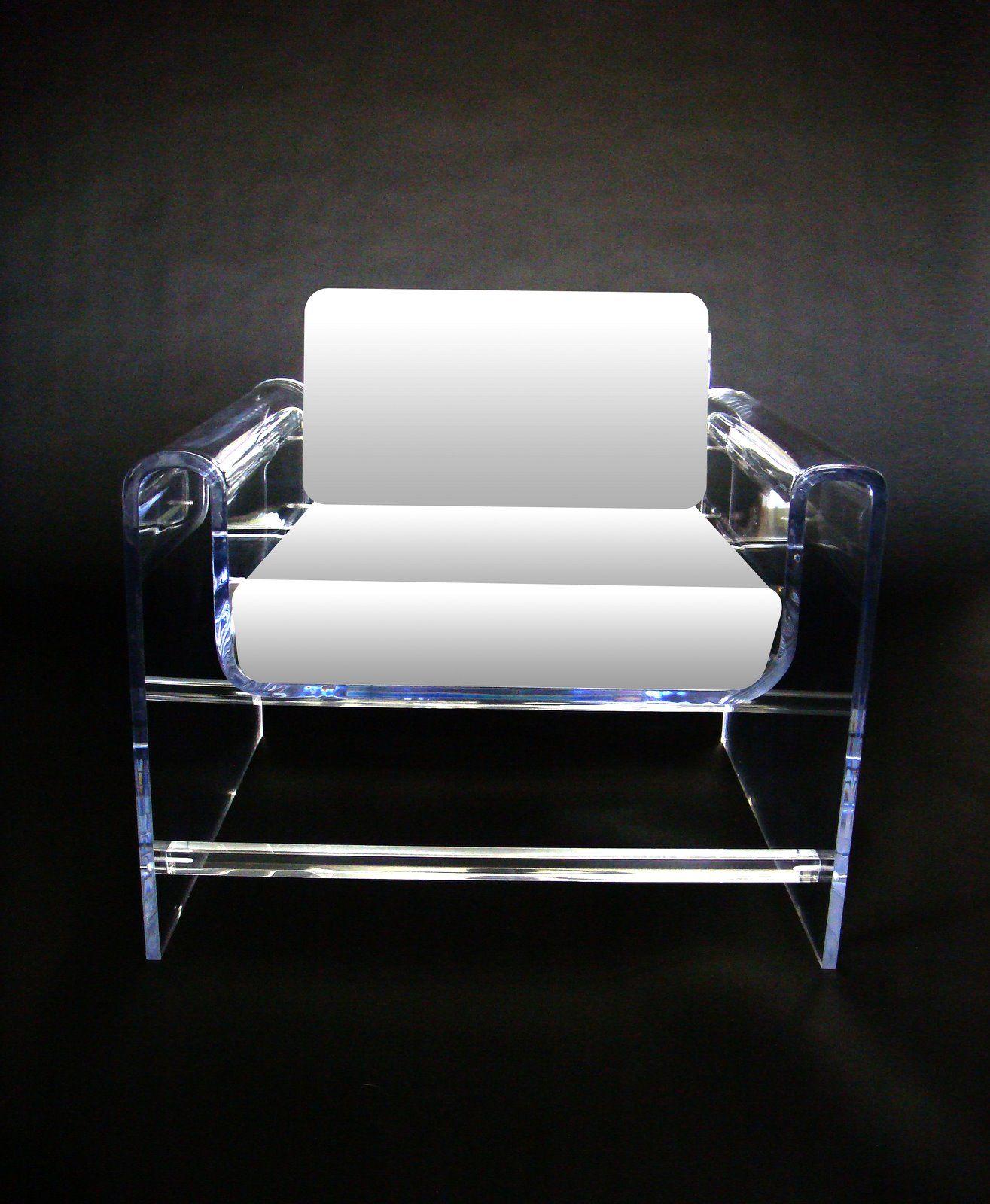 lucite chair white throne chair