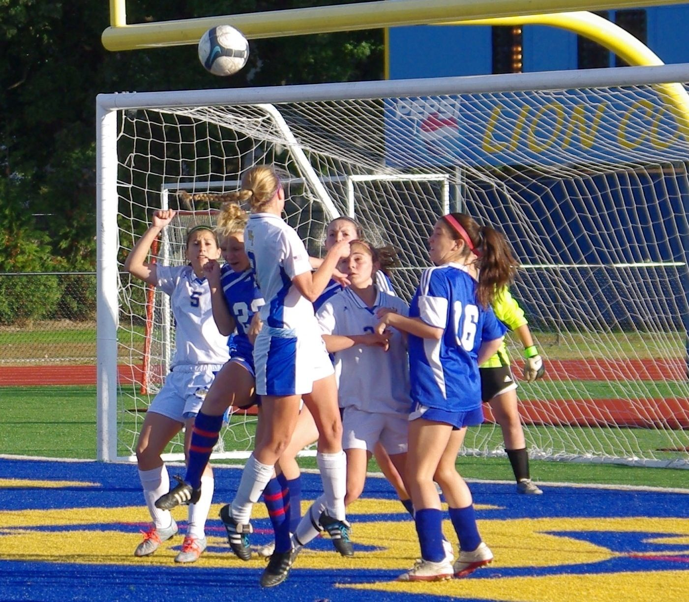 West Islip kept the pressure on throughout their 40 win