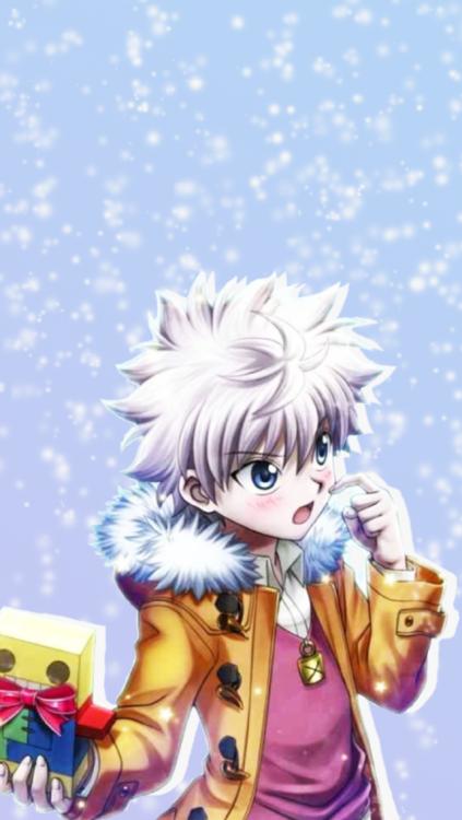 Hunter X Hunter Iphone Wallpapers Tumblr Anime Christmas Anime Anime Wallpaper